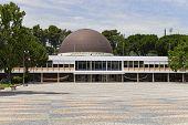 Lisbon, Portugal - June 18, 2013: Calouste Gulbenkian Planetarium in Belem.
