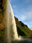 Seljalandsfoss waterfall in Iceland
