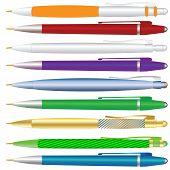 A Set Of Pens