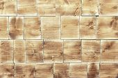 Wooden texture, wood blocks