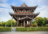 Sanmon - the main gate at Tofuku-ji Temple in Kyoto