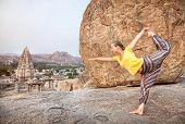 Yoga In Hampi
