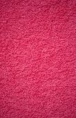 Bright Pink Bath Towel Surface Texture, Close Up