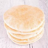 picture of pita  - pita bread - JPG