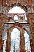 Dome Church Ruins.