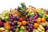 Heap Of Fruits.