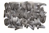 Alphabet From Steel