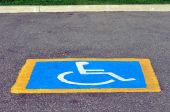 Handicapped reserved parking