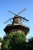 Huge, Historic Mill In Sanssouci Park, Berlin