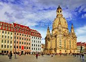 Church Frauenkirche in Dresden Germany