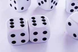 pic of groping  - groped their luck rolling the dice game - JPG