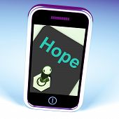 Hope Switch Phone Shows Wishing Hoping Wanting