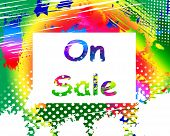 On Sale Phone Screen Promotional Savings Or Discounts