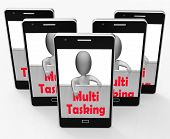Multitasking Phone Means Doing  Multiple Tasks Simultaneously
