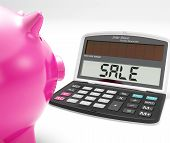 Sale Calculator Shows Price Reduction Or Discounts