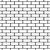 brick wall pattern vector background