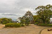 Okayama Castle Main Keep, Japan