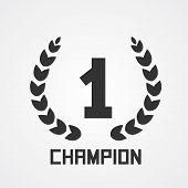 Laurel wreath for champion