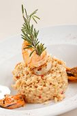 delicious risotto with seafood