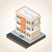 Isometric Buildings Set 1