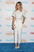 LOS ANGELES - JUN 19:  Ashley Tisdale at the FIGat7th Grand Re-Opening at FIGat7th on June 19, 2014