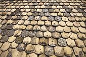 Old Tiles On Roof