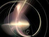 image of one Digital Fractal raster background