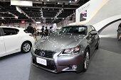 Bangkok - August 19: Lexus Gs300H Car On Display At Big Motor Sale On August, 2014 In Bangkok, Thail