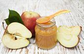 Apples Puree In Jar