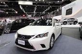 Bangkok - August 19: Lexus Ct200H Car On Display At Big Motor Sale On August, 2014 In Bangkok, Thail