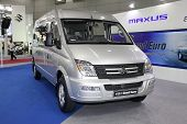 Bangkok - August 19: Maxus V80 Grand Tourer Car On Display At Big Motor Sale On August, 2014 In Bang