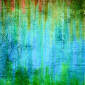 Hand painted colored abstract background