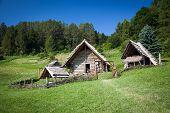 Celtic settlement at open-air museum Havranok - Slovakia