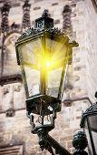 Old Streetlamp Lights