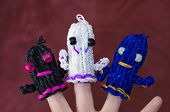 Loom Band Ghosts
