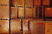 Small Brown Cabinet