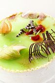 cake with pistachio