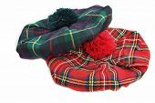 Scottish Tartan Hat. Bonnet