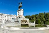 Plazza De Oriente Madrid