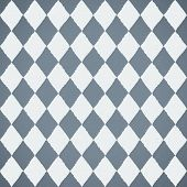 Seamless pattern with geometric rhombuses texture