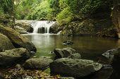 Deep Beautiful Waterfall
