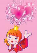 Princess dreams.