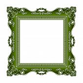 frame old ornament