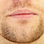 Beard And Lips