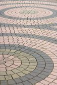 Footpath Patterned Paving Tiles