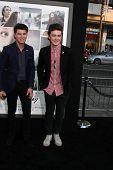 LOS ANGELES - AUG 20:  Charley Bagnall, Jake Roche, Rixton at the