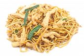 picture of lo mein  - Delicious chinese food chicken Lo Mein stir fry - JPG