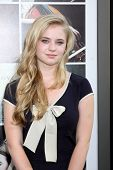 LOS ANGELES - AUG 20:  Sierra McCormick at the