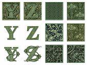 Money Alphabet Y To Z