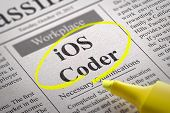 IOS Coder Jobs in Newspaper.